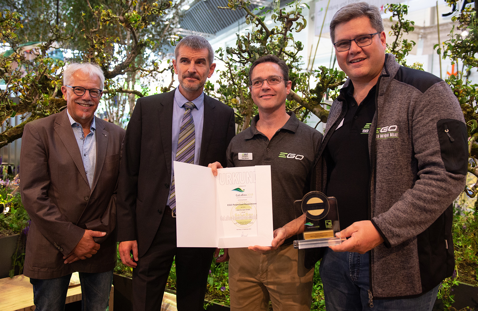 Double Award Win for EGO Line Trimmer Technology